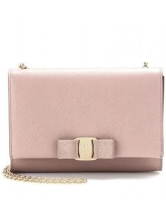 Salvatore Ferragamo - GINNY SMALL LEATHER SHOULDER BAG - mytheresa.com GmbH