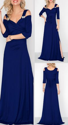 Elevate your style with trending styles from Rotita.This navy blue dress will shine with an eye-catching color and unique trim at theshoulder.Make this look yours today. Mob Dresses, Cheap Dresses, Sexy Dresses, Casual Dresses, Fashion Dresses, Glamorous Evening Dresses, Elegant Dresses, Club Party Dresses, Mothers Dresses