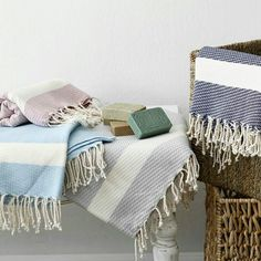 Ultra-soft, hand-loomed Exquisite bamboo hammam towel is versatile, compact and lightweight. Caravan Holiday, Beach Towel, Space Saving, Towels, Bamboo, Blanket, Gift, Summer, Cotton