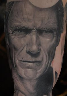 Clint Eastwood By Mike Dargas