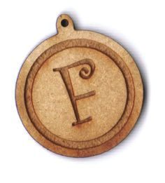 Curly letter F engraved bead Letter F, Letter Beads, Amazon Art, Sewing Stores, Sewing Crafts, Curly