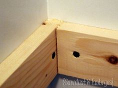 CLOSET SHELVING DIY - great step by step for a simple solution