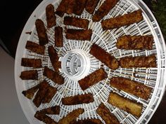 Sweet and spicy chipotle chili tempeh jerky