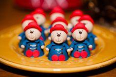 Festinha Paddington Bear - Bombom de urso