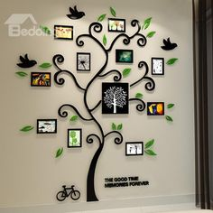 Fantastic Family Tree 3D Sticker Wall Photo Frame on sale, Buy Retail Price 3D Wall Stickers at Beddinginn.com