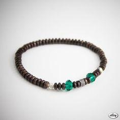 hematyt i kryształki na gumce Turquoise Bracelet, Zip, Bracelets, Jewelry, Jewlery, Bijoux, Schmuck, Jewerly, Bracelet