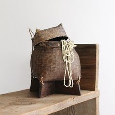 Vintage Basket by lovintagefinds on Etsy