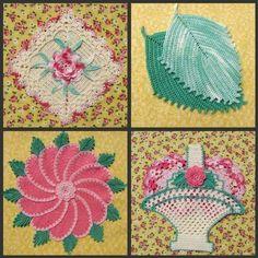 PDF Crochet Pattern Set Decorative Thread by BellaCrochet on Etsy