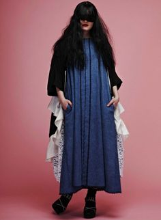 Roxanne Léger's work, read the interview here: http://www.fashion156.com/daily-blog/f156-graduate-showcase-week-roxanne-leger/  #fashion156 #RoxanneLeger #graduateshowcaseweek #designer #fringe #LCF #LondonCollegeofFashion #denim #studio #editorial #photography #pink #blue #lace #layers