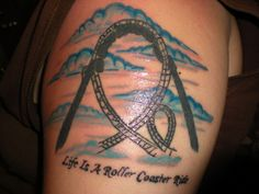 c63c5a564173a Photobucket Fish Tattoos, Cool Tattoos, Deathly Hallows Tattoo, Roller  Coasters, Tattoo Inspiration