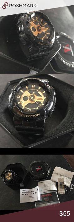06da67309496 Baby G Shock Casio Sport Watch Baby G Shock Sport Watch. Black and gold Mod