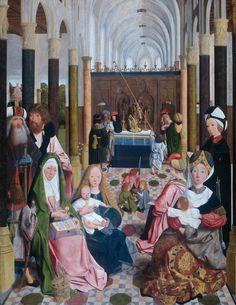 Sainte Anne Trinitaire > L'évolution du thème en Europe du Nord > L'Enfant partagé