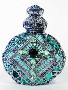 Perfume bottle from the Czech Republic.