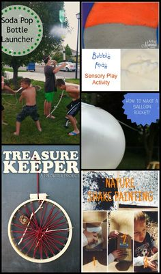Summer Survival for Moms of Boys |Daily Summer Activities