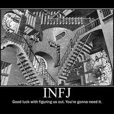One of my favorite works of art.and the sentiment is so true. Rarest Personality Type, Myers Briggs Personality Types, Myers Briggs Personalities, Infj Personality, Infj Mbti, Enfj, Infj Type, Les Oeuvres, Fandom