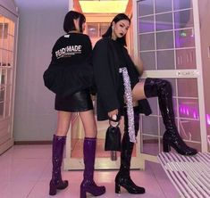 Looks On Looks On Looks Boujee Outfits, Teen Fashion Outfits, Korean Street Fashion, Asian Fashion, Aesthetic Clothes, Urban Aesthetic, Asian Style, Dress Me Up, Cool Kids