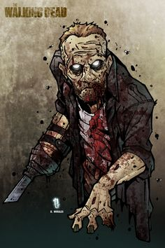 129 Best Walking Dead Images Drawings Death Movies