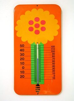 Thermometer by Laurids Lonborg
