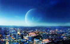 WALLPAPERS HD: CIty Night Fantasy