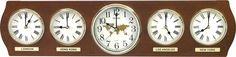 New Rhythm Clocks 2012 - 2013 - Time Zones Rhythm Clock