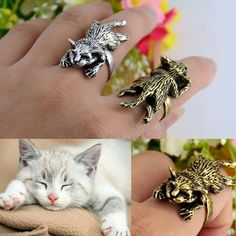 Need this lazy cat ring