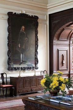 The impressive Lullingstone Castle inside