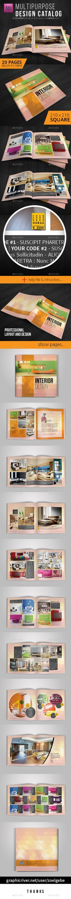 Square Modern Brochure / Catalog Template. Download: http://graphicriver.net/item/square-modern-brochure-catalog-template/11260922?ref=ksioks