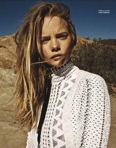 visual optimism; fashion editorials, shows, campaigns & more!: marloes horst by vanmossevelde+n for grazia france 27th february 2015