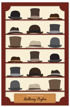 501a11ec729cbf Hats for men for the window of your shop Collections Of Objects