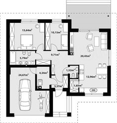 of classical Latin literature f - casamea. Classical Latin, 2 Bedroom House, Architecture Design, House Plans, Floor Plans, How To Plan, Bungalow, Houses, Lifestyle Blog