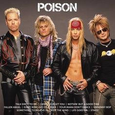 Poison - Icon (Album Released: Album) (Bobby Dall - Bass Guitar, C. Rock & Pop, Rock And Roll, Poison Albums, Hard Rock, Poison Rock Band, Bret Michaels Band, Party Anthem, Cherokee Nc, 80s Hair Bands