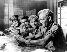 Ice Cold in Alex (1958) starring John Mills, Anthony Quayle, Harry Andrews and Sylvia Sims.