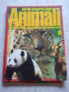 ALBUM RACCOLTA FIGURINE di ALLA SCOPERTA DEGLI ANIMALI - Ed MASTERS  - 1997