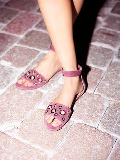 Inuovo Round Rock Platform Sandal at Free People Clothing Boutique