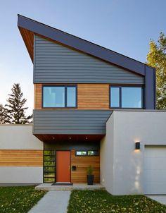 Cedar shake siding exterior contemporary with exterior cedar shake accent siding…