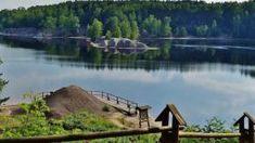 Polsko - Barevná jezírka někdejšího dolu Babina, ideální cíl i pro cyklisty a turisty