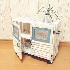 My Shelf,キャスター付ワゴン,DIYタイル,100均,DIY,いつもいいね!ありがとうございます♪,雑貨,グリーン×雑貨,セリア,すのこ kohakuruの部屋