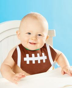 Football Bib Perfect for the little football player !