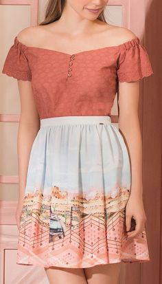 40 Summer Outfits You Will Want To Try - Fashion New Trends Modest Fashion, Boho Fashion, Fashion Looks, Fashion Outfits, Fashion Skirts, Fashion Trends, Trending Fashion, Fancy Tops, Trendy Tops