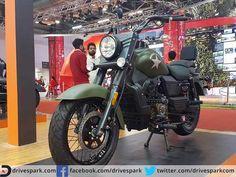 Renegade Commando Cruiser Leads UM Motorcycles's Raid Into India  #AutoExpo #UMMotorcycles