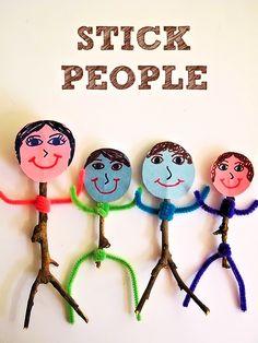 Stick People Nature Craft Figures