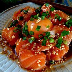 japanese food, sushi, sashimi, japanese sweets, for japan lovers Japanese Food Sushi, Japanese Dishes, Japanese Sweets, Food Porn, Aesthetic Food, Rind, Food Menu, Asian Recipes, Love Food