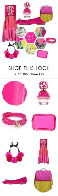 """""""Pretty In Pink"""" by nicole-leblanc-1 ❤ liked on Polyvore featuring NARS Cosmetics, Marc Jacobs, de Grisogono, Stephanie Johnson, Kate Spade, Peter Pilotto, Christian Dior, The Volon and Talking Tables"""