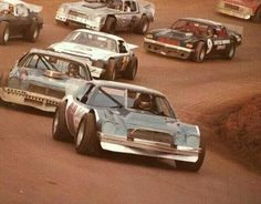 Dirt Track racing in 1980.