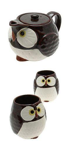 Owl Tea Set ♥ L.O.V.E.
