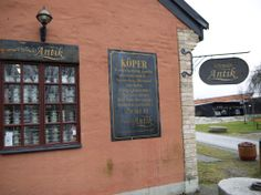 Gustavsberg / Antique shop