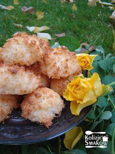 Jakie lubicie kokosanki?  Ja uwielbiam chrupiące z wierzchu, a miękkie w środku.  Jeśli Wy też, to mam przepis dla Was. Domowe wykonanie gw...