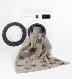 Washable rug Linen Stars Grey/Alfombra lavable Estrellas Lino-Gris Lorena Canals