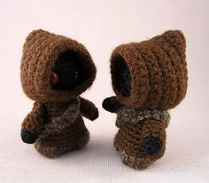 Ravelry: Jawa Star Wars Mini Amigurumi pattern by Lucy Ravenscar