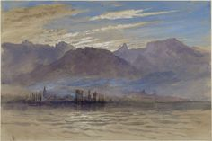 morning in spring, with north-east wind, at vevey. john ruskin